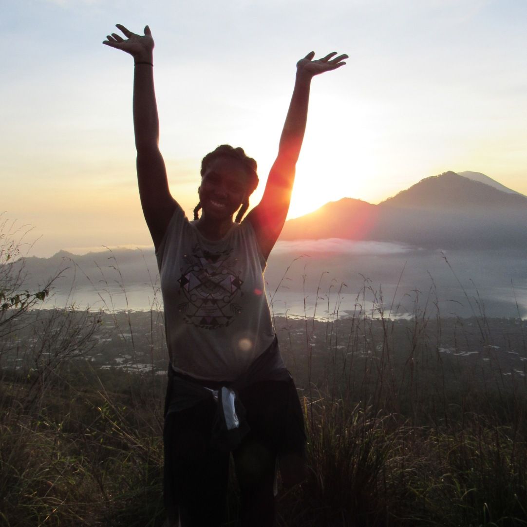 Me at the top of Mount Batur