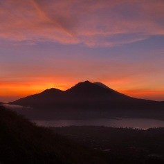 Mount Batur at Sunrise