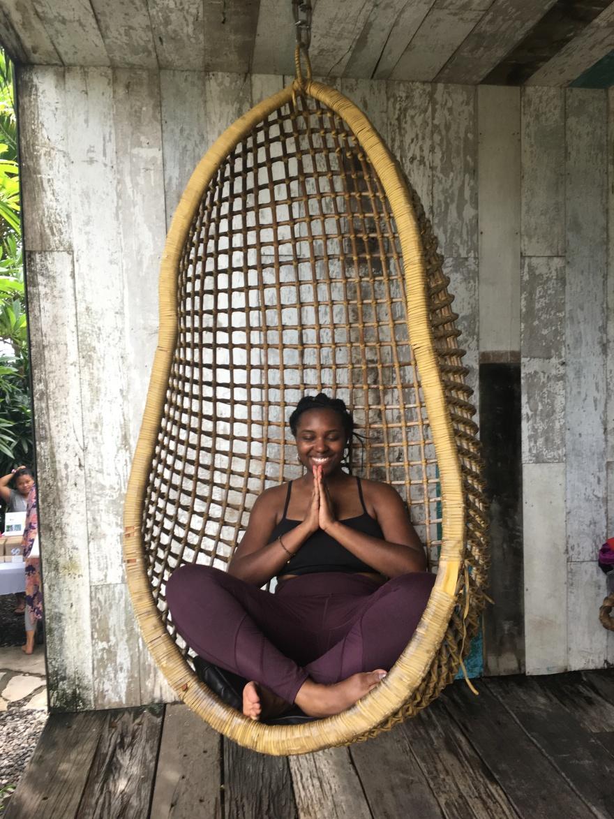 yoga self care bali